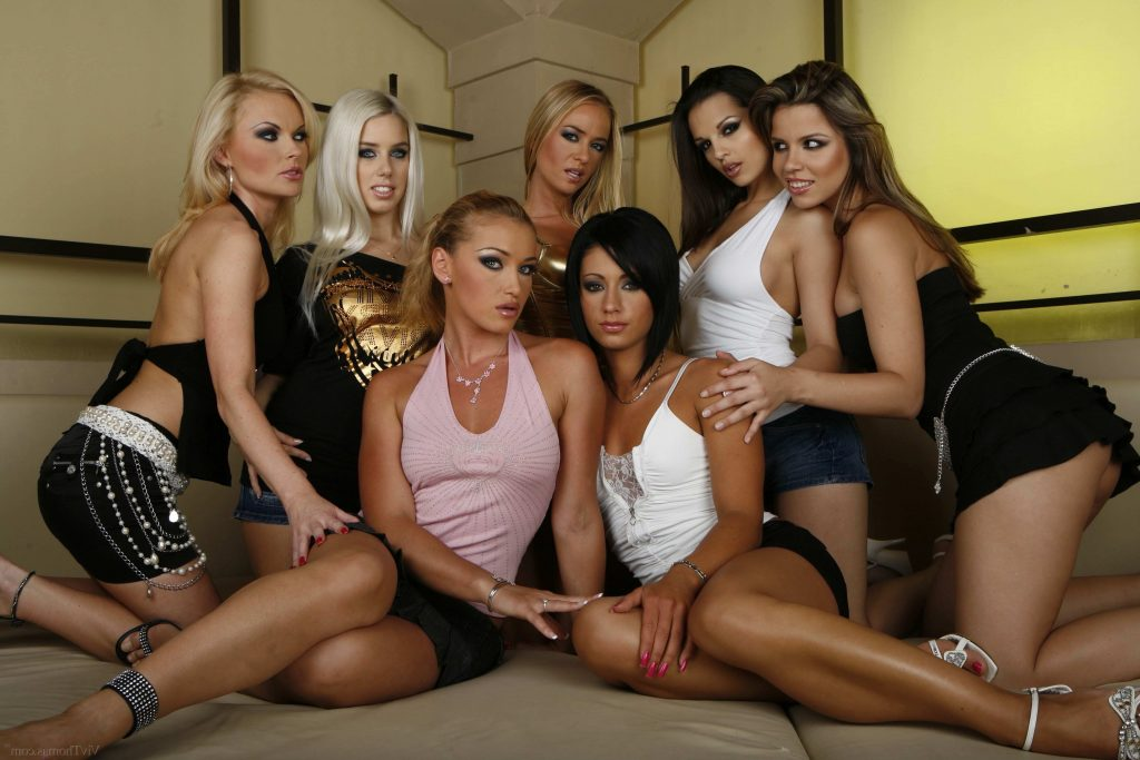 Pornstars To Have a wild orgy party